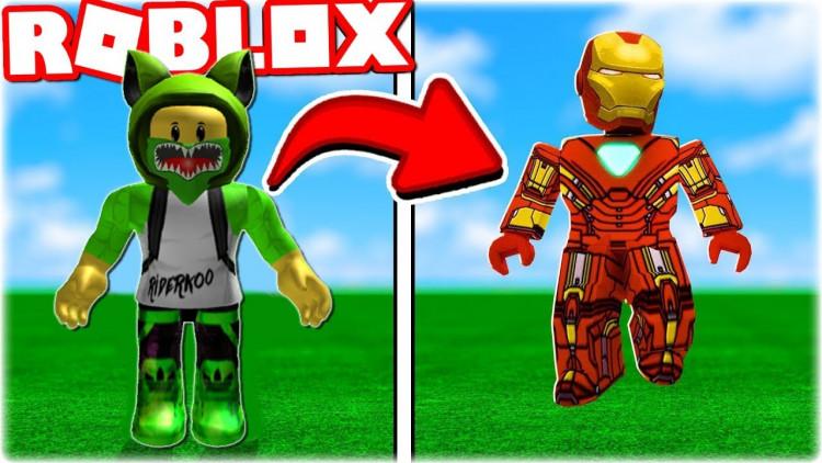 Roblox Iron Man Battle Transformace Do Iron Mana V Robloxu Iron Man Battles Youtuberi Tv